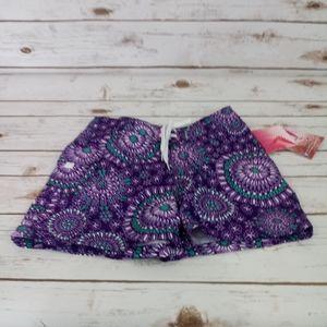 Kanu Surf Melanie Purple Swim Bottoms Size S 7
